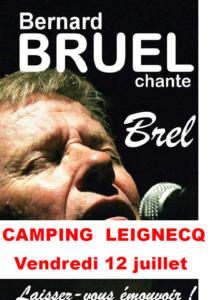 Bernard BRUEL chante Jacques BREL le 12 juillet
