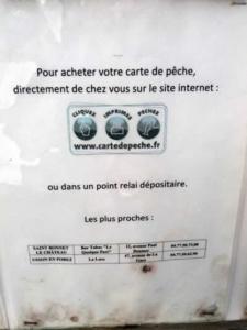 Carte de pêche à Leignecq 1