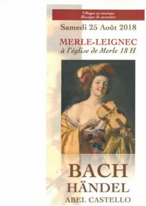 Concert classique à Merle 25 08 2018