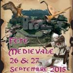 Fête médiévale les 26/27 septembre 2015 à Merle Leignec
