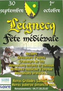 Fête médiévale Merle Leignec 2017