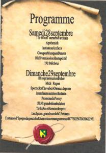 Fête médiévale Merle Leignec 2019