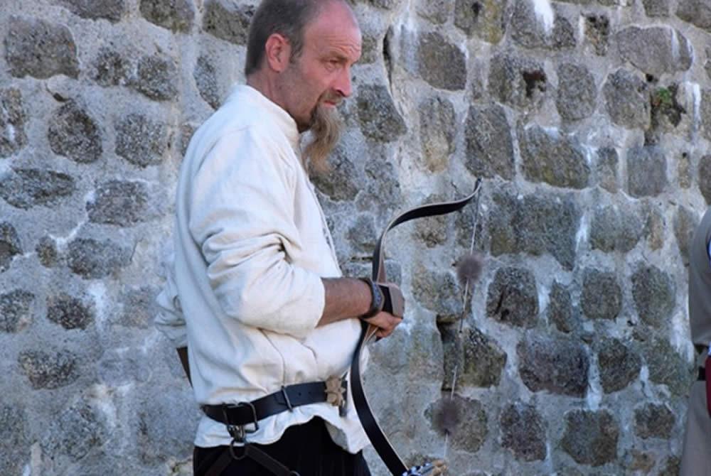 Les archers fête médiévale Leignec 2019