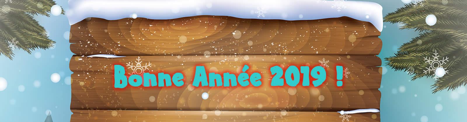 Merle La Mairie et le Conseil Municipal vous souhaitent une Bonne Année 2019