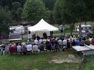 Mouss et Yssouf au camping de Leignec