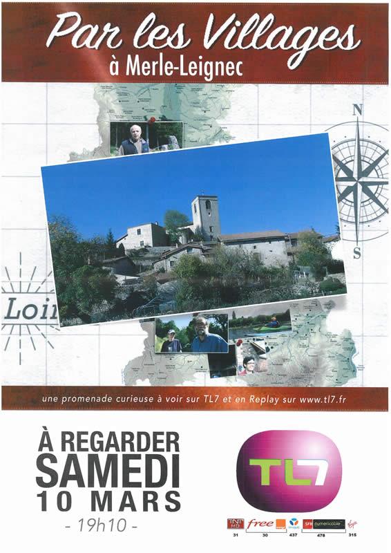 Promenade à Merle-Leignec mars 2018 sur TL7