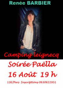 Renée Barbier camping 2019